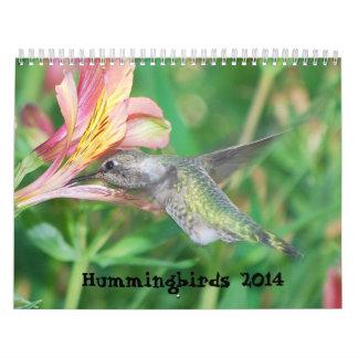 2014 Hummingbird Calendar