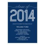 2014 invitación maravillosa de la graduación - mar