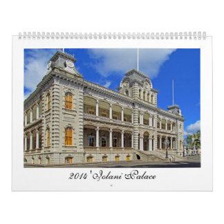 2014 Iolani Palace Calendar, Hawaii, 2nd version