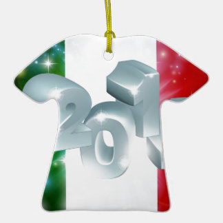 2014 Italian flag Ceramic T-Shirt Decoration