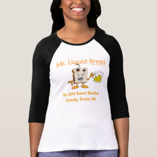 2014 Kennett Square Beerfest Womens 3/4 Sleeve T-Shirt
