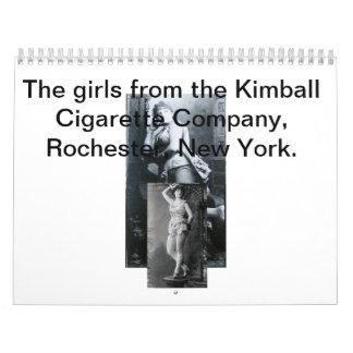 2014 Kimbal Girl Calendar