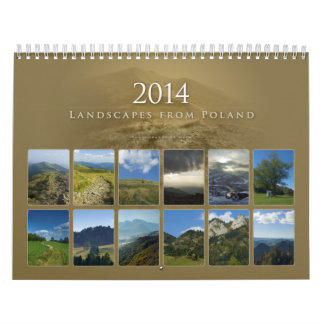 2014 Landscapes from Poland - Calendar