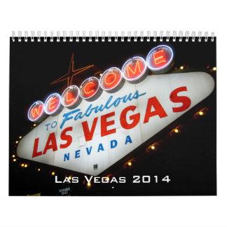 2014 Las Vegas Calendar