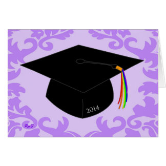 2014 Lavender Graduation - Gay Grad Card