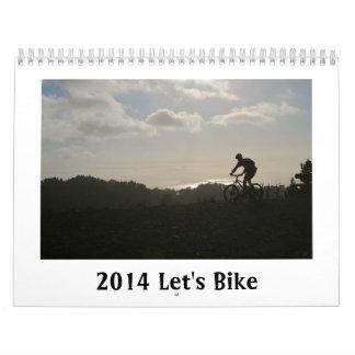 2014 Let's Bike Calendar