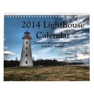2014 Lighthouse Calendar