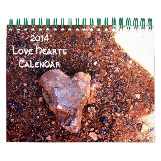 2014 Love Hearts Calendar - 3