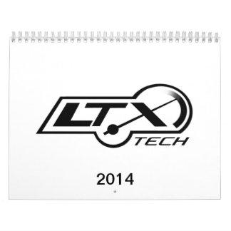 2014 LTxTech com Calendar