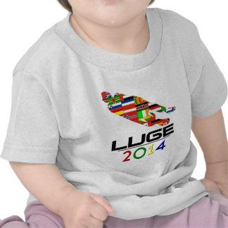 2014 Luge Camisetas