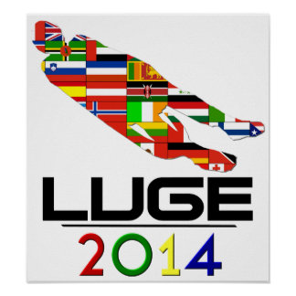 2014: Luge Poster