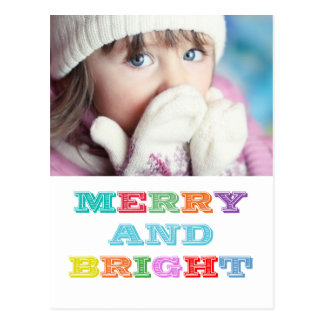 2014 MERRY and BRIGHT Holiday Postcard
