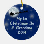 2014 mi 1r navidad como abuela adorno de navidad