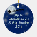 2014 mi 1r navidad como hermano mayor ornamentos de navidad