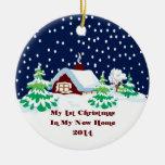2014 mi nuevo navidad casero ornamente de reyes