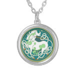 2014 Mink Style Unicorn Necklace - Green/White