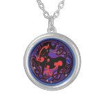 2014 Mink Style Unicorn Necklace - Red/Black