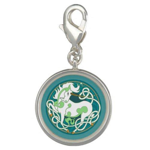 2014 MinkStyle Unicorn Charm - Green/White