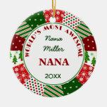 2014 Most Awesome NANA or Any Grandma Name Ornament