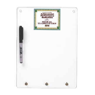 2014 MT Certificate of Recognition Dry Erase Board