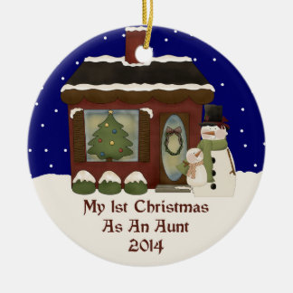 2014 My 1st Christmas As An Aunt Christmas Tree Ornament