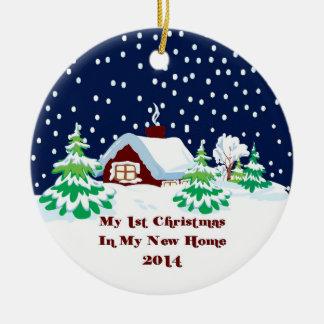 2014 My New Home Christmas Christmas Tree Ornament