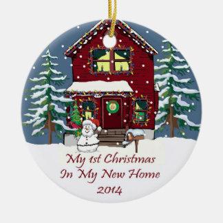 2014 My New Home Christmas Christmas Ornament