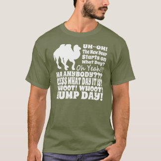 2014 New Years Day Hump Day Camel T Shirt