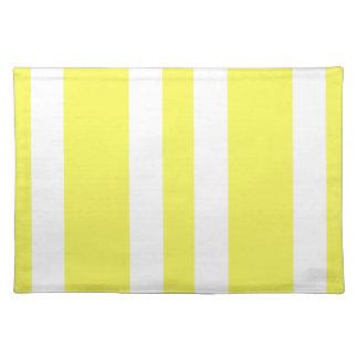 2014 nuevos regalos amarillos y blancos de manteles individuales