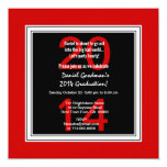 2014 o cuaesquiera negros rojos V07 de la Comunicado Personalizado