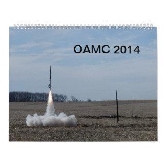 2014 OAMC Rocket Calendar
