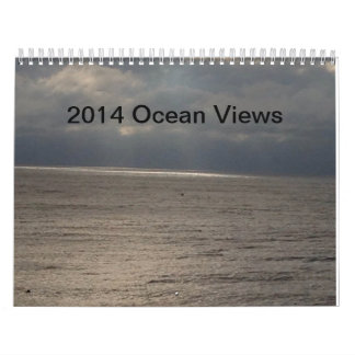 2014 Ocean View Custom Calendar