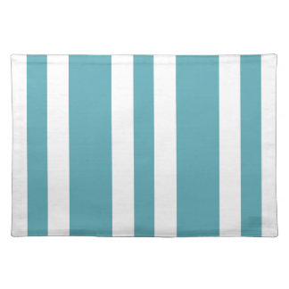 2014 Oceanside Blue & White Stripe Placemat Gift