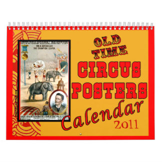 2014 Old Time Circus Posters Calendar
