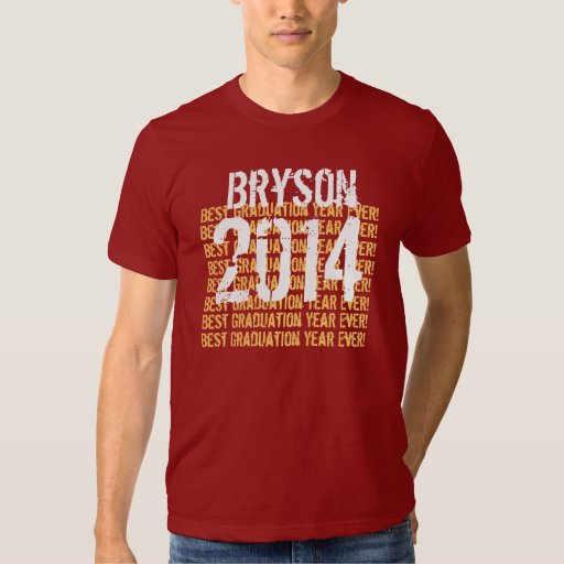 2014 or Any Graduation Year and Custom Name V04 T-shirt
