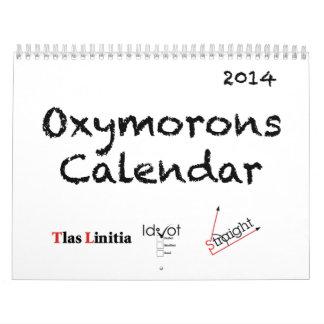 2014 Oxymorons Calendar