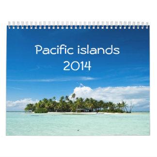 2014 Pacific islands calendar