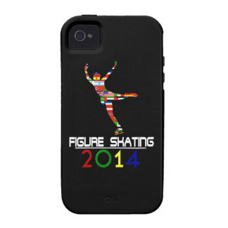 2014: Patinaje artístico Case-Mate iPhone 4 Fundas