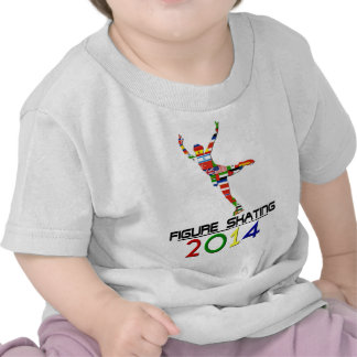 2014 Patinaje artístico Camiseta