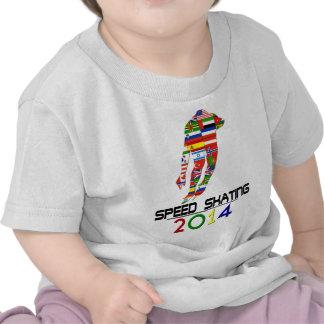 2014 Patinaje de velocidad Camiseta