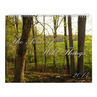 2014 Peace of Wild Things Calendar