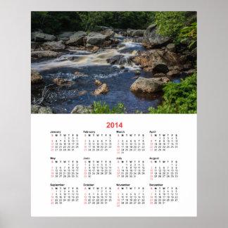 2014 Pennant Brook I Calendar Poster