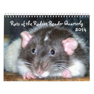 2014 Pet Rats Calendar D