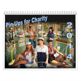 2014 PinUps For Charity Calendar