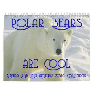 2014 Polar Bear Calendar