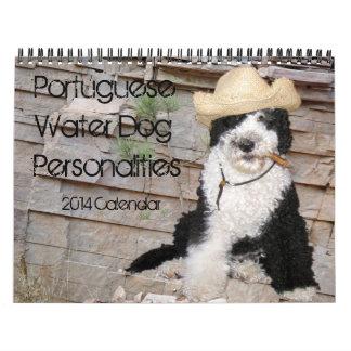 2014 Portuguese Water Dog Personalities Calendar