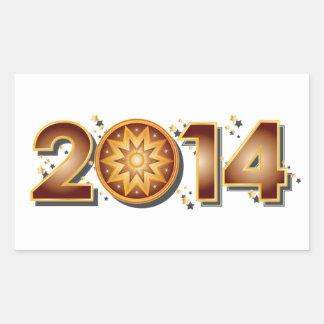 2014 RECTANGULAR STICKER