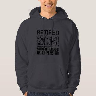 2014 Retirement party hoodie for retiring men