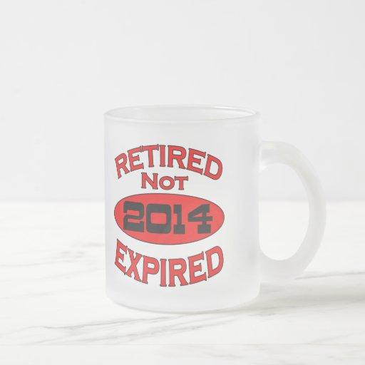 2014 Retirement Year Mug