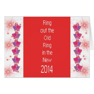 2014 Ring in and out Greeting Card